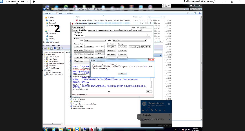 حل مشكلة التطبيقات والبرامج والسيريال والشبكة لهاتف X623 مع العالمى حسن تك
