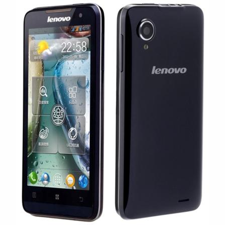 الهاتف Lenovo IdeaPhone P770 ببطاريه طويلة المدى وبنظام الجلي بين وبسعر رخيص