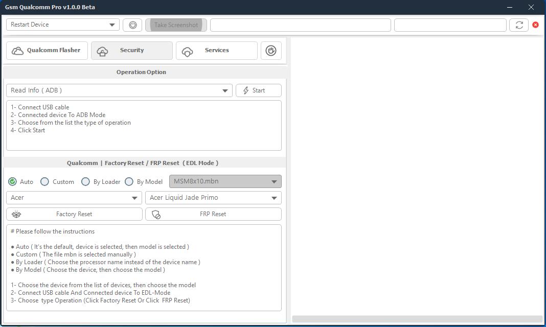 Gsm Qualcomm Pro v1.0.0 Beta