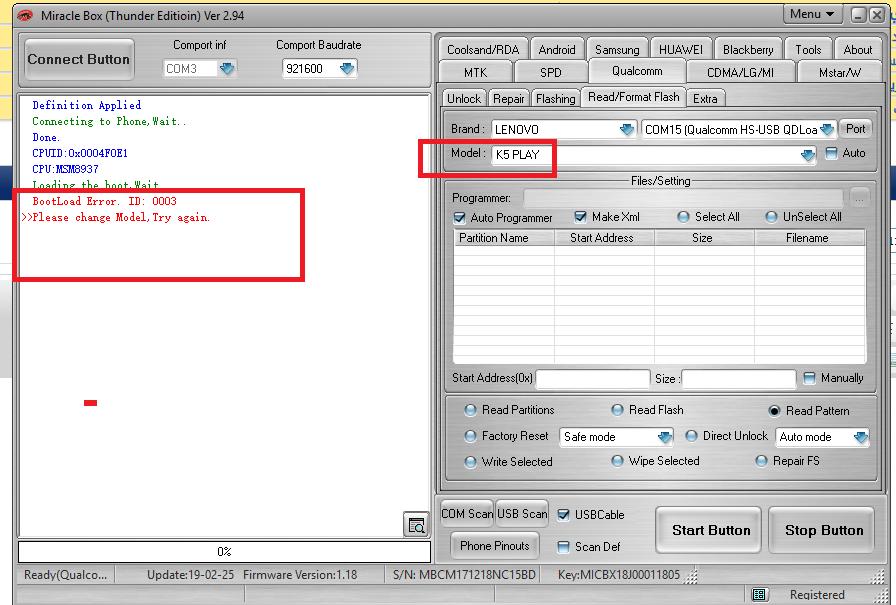 طلب : طريقة ازاله النمط lenovo k5play l38011 - الصفحة 1