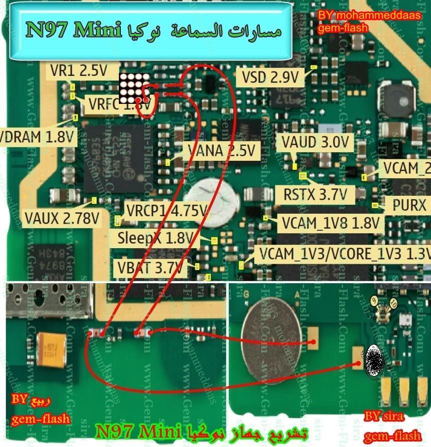 n97 mini شبكه