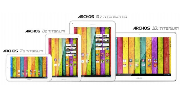 شركة Archos تكشف عن 4 أجهزه لوحيه خلال مؤتمر