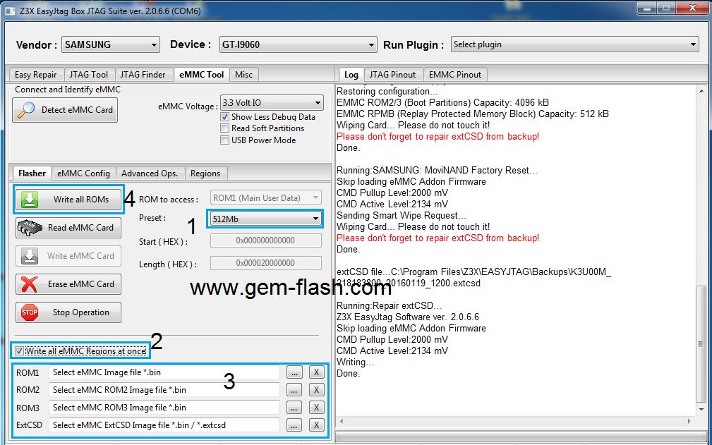 شرح حصرى لطريقة تصليح Emmc I9060 على EasyJtag - الصفحة 1