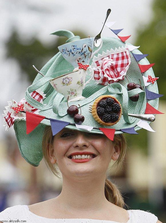 """"""" بالصور """" قبعات غير اعتيادية"""