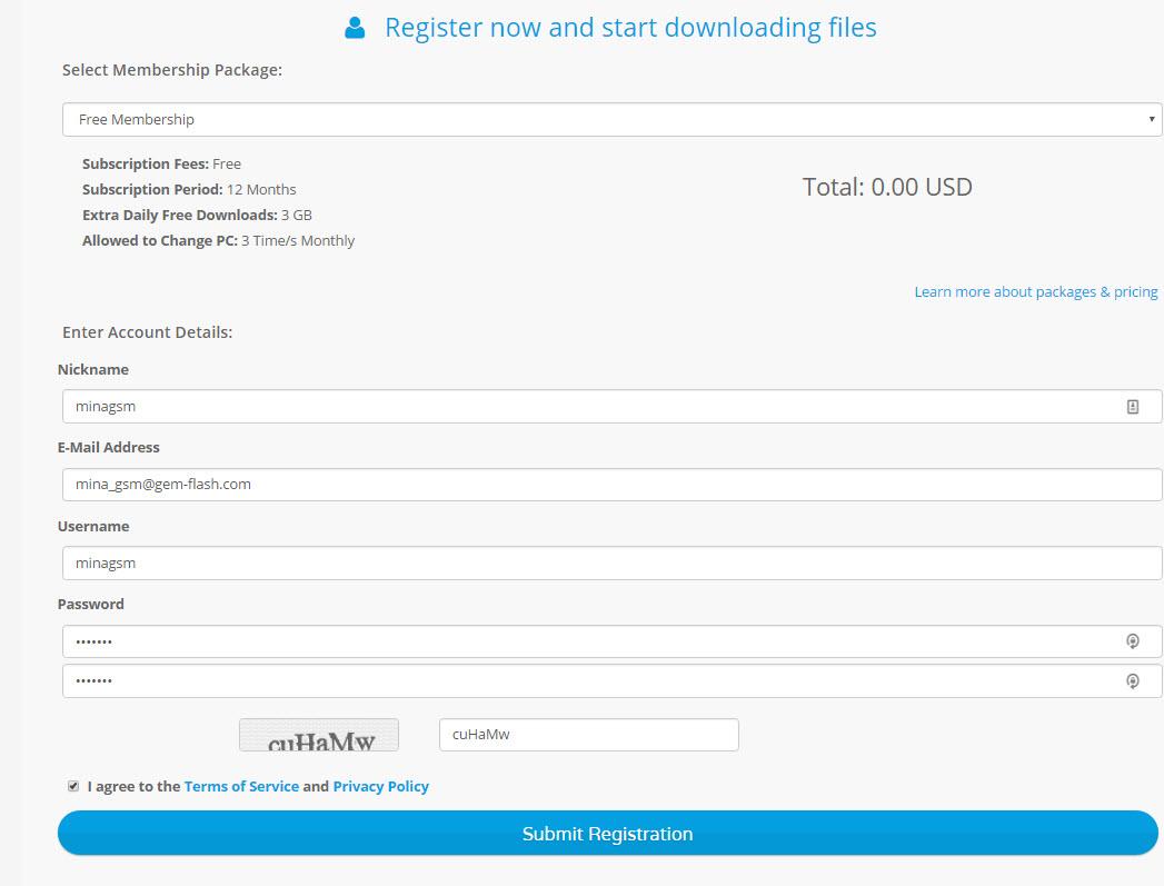 كيفية التسجيل بسبورت الجيم فلاش How to Register To Firmware.Gem-flash.com