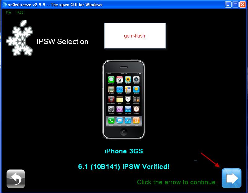 ترقية و جيلبريك و فك شفرة iphone 3gs ios 6.1