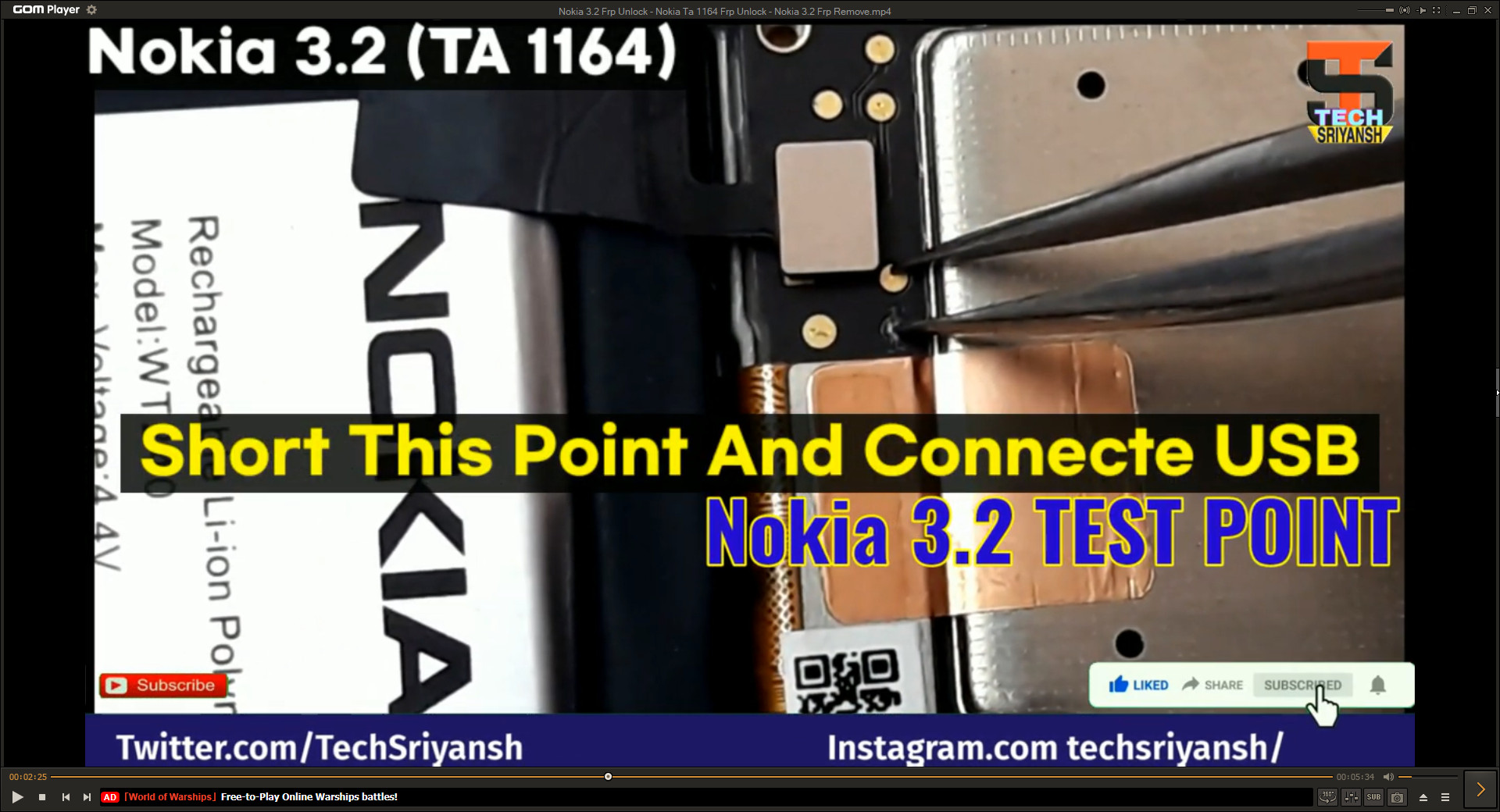 NOKIA TA-1164 FRP DONE