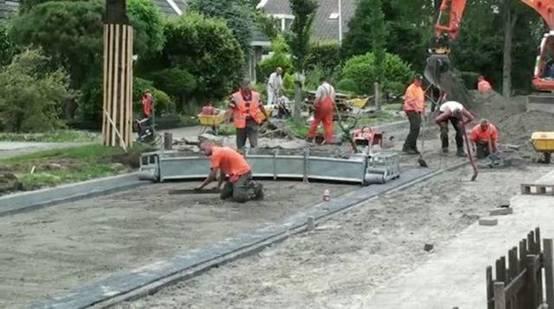 رصف الطرق في هولندا