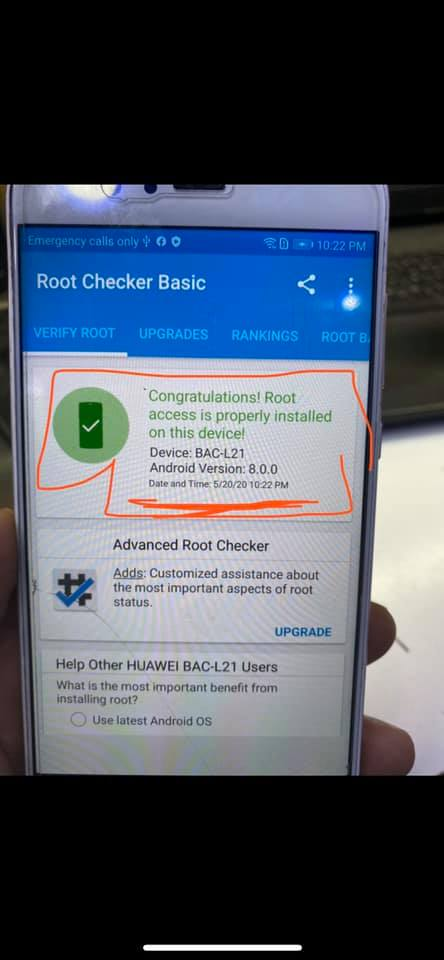 كيفية عمل روت لجهاز BAC-L21  8.0.0 بكل سهولة ويسر مع اخوكم حسن تك