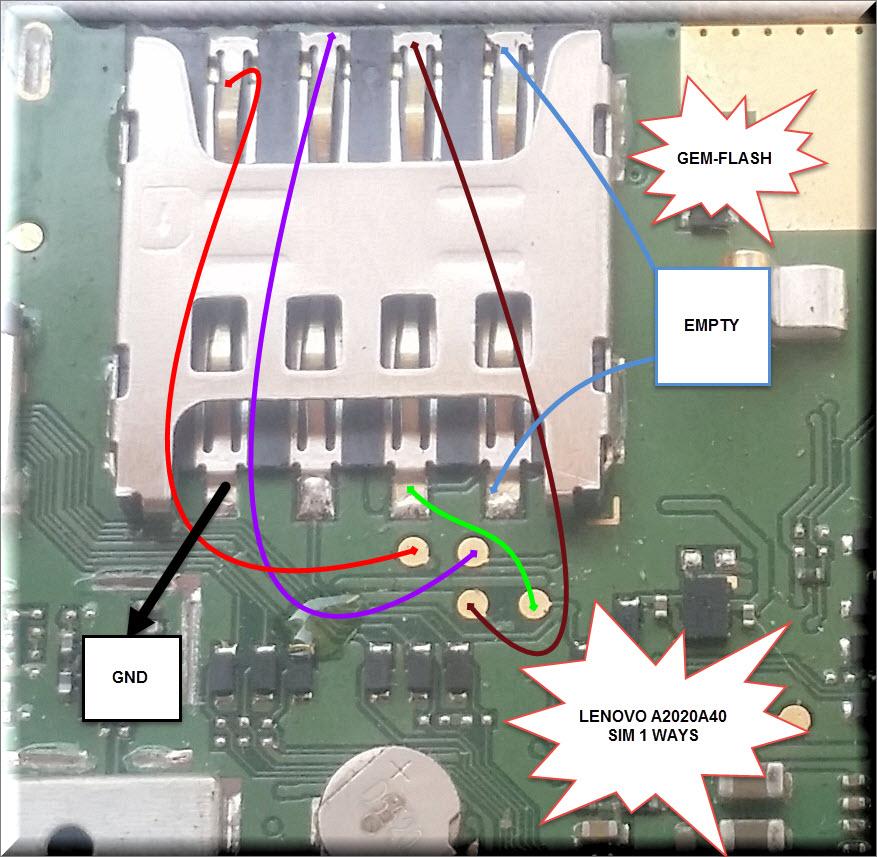 مسارات واعطال لينوفو  في اي بي اي سي  LENOVO A2020a40 VIBE C HARDWARE SOLUTIONS