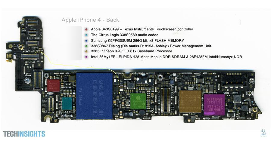 حل مشكلة بيانات الشاشه والاضاءه ل iphone 4