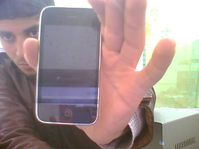 مشكلة فك شفرة iphone 3gs