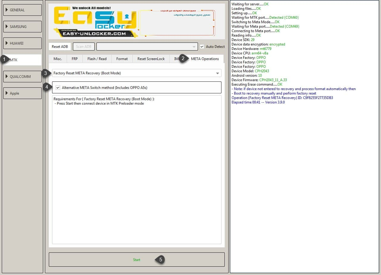 EFT Pro Update 3.9.0 is released -- Full Oppo and MTK solutions
