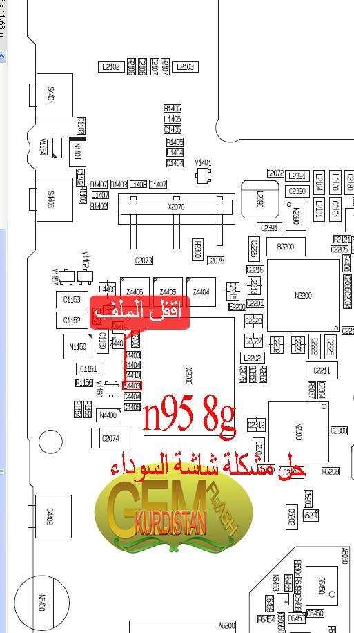 مشكلة في معلومات نوكيا N95 8G