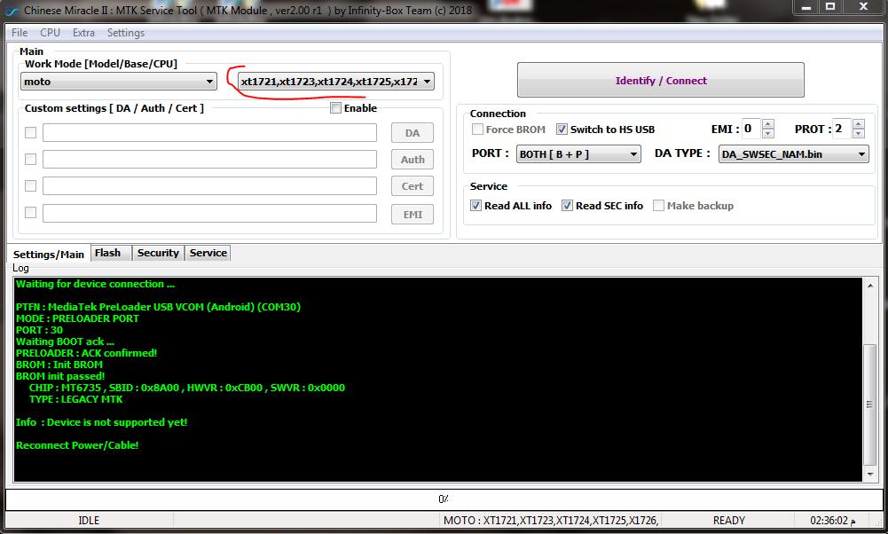 GSM-Forum - View Single Post - Moto C PLUS Boot Done Read Flash Error