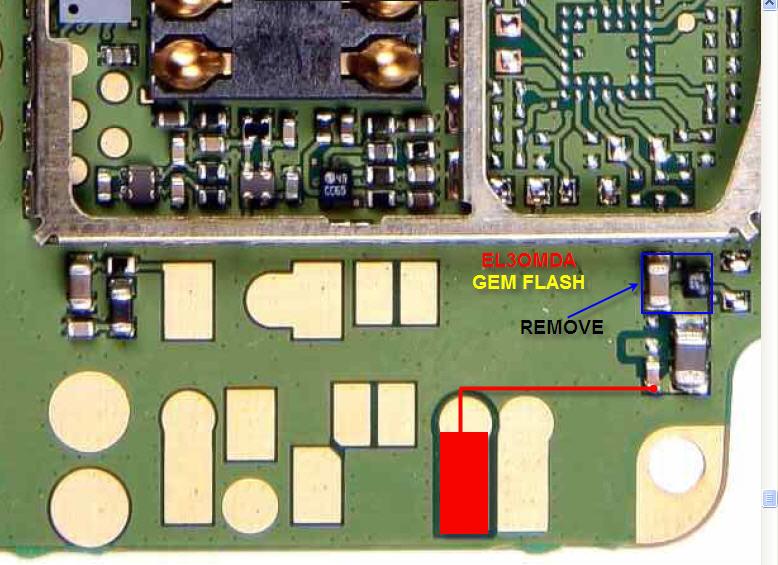 جهاز 1110 عند تركيب التليفون علي الشحن لمبة الشاحن تفصل