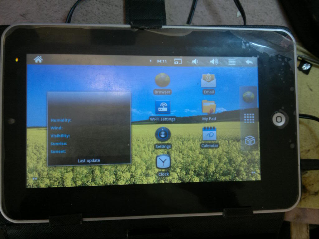 Android tablet china 2.3.3 hang Solution