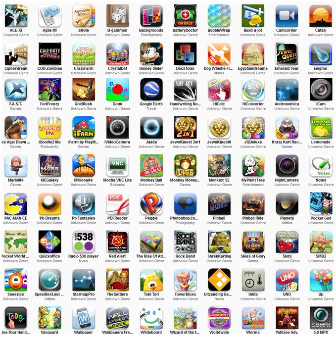 "اكبر مكتبة برامج  Games & Apps for iPhone in one torrent (2.46 GB ""110"")iPhone"