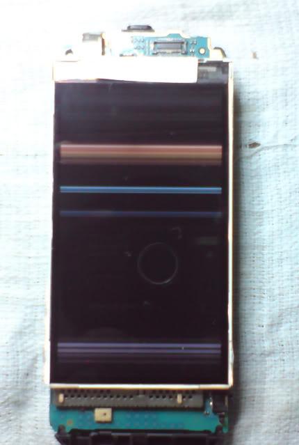 طريقة تصليح شاشة 5800 ( عطل شائع )