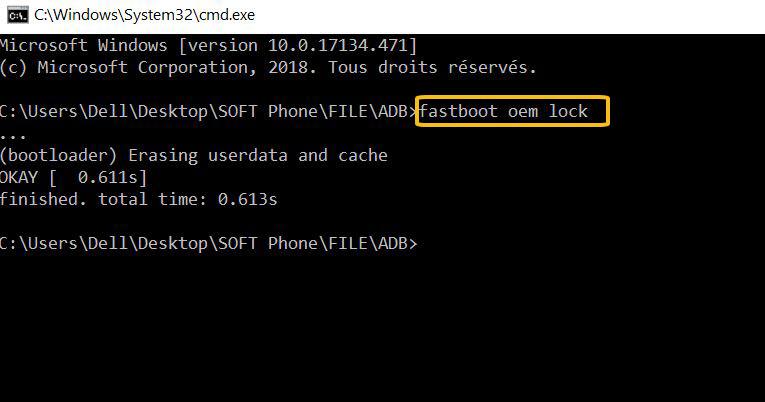 كيفية عمل روت لاجهزة LG بوضع fastboot بالخاصية الجديدة 2018