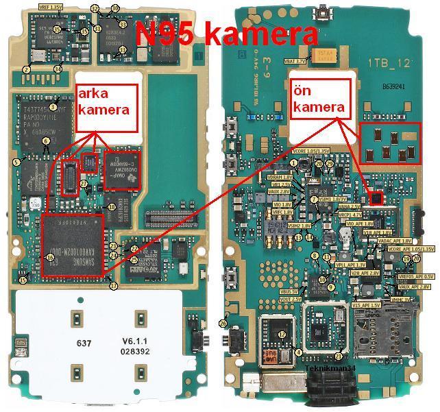 نوكيا N95 كامرة سوداء