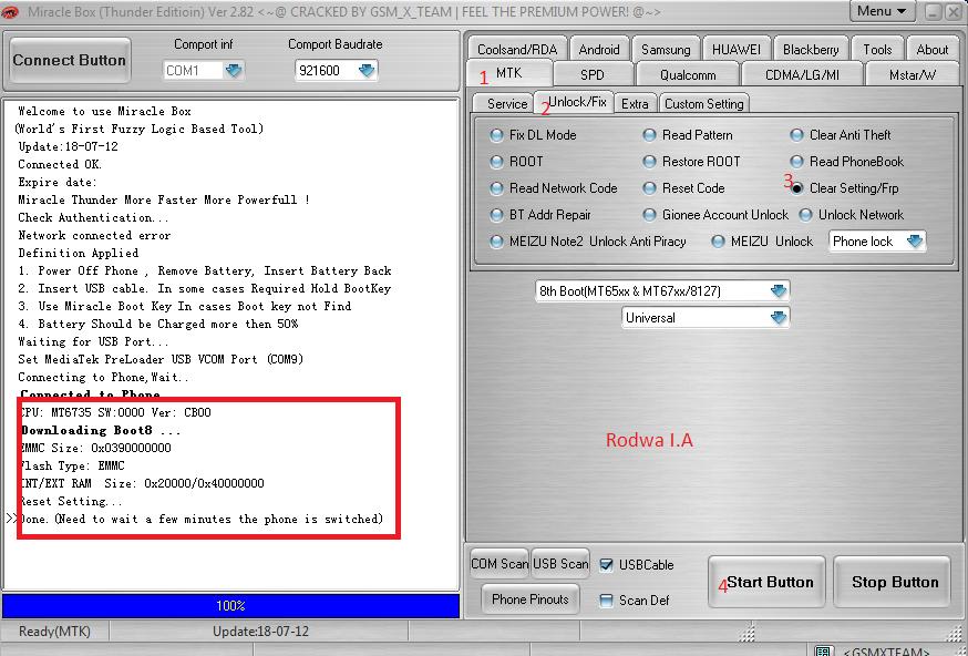 ازالة FRP من Tecno DroidPad 811