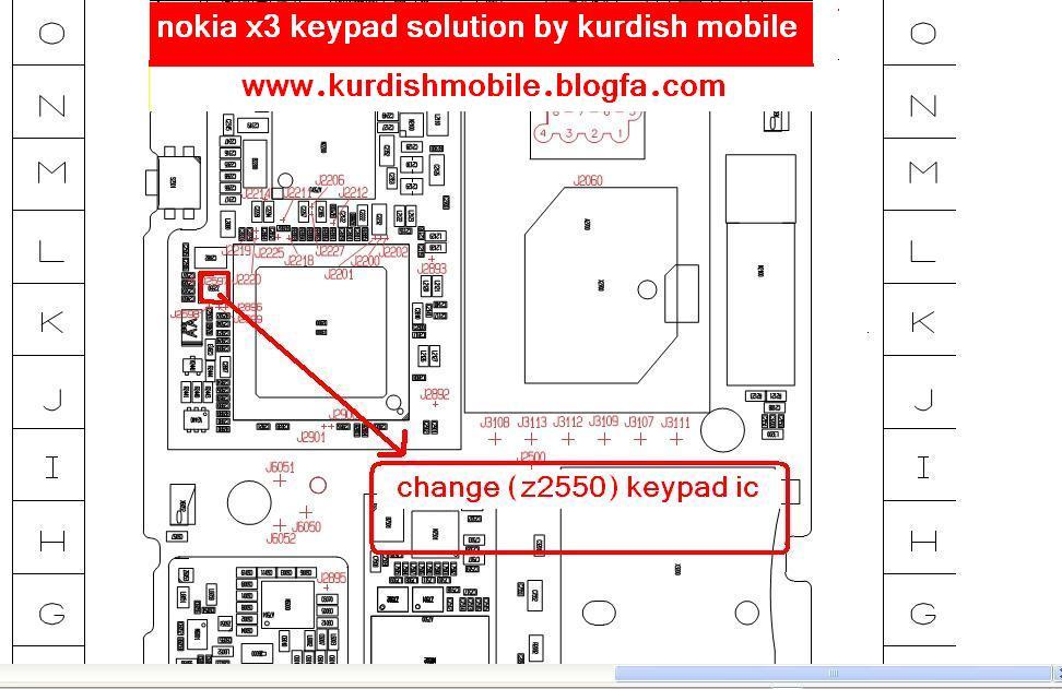 x3 لوحة المفاتيح لاتعمل