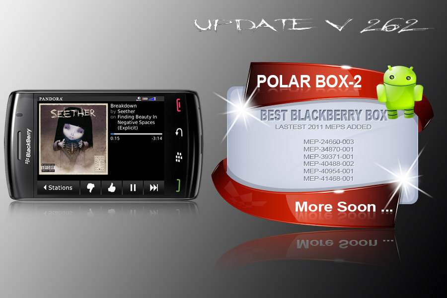 Polar box 2 : V2.62 big update Ready [htc - blackberry - alcatels]