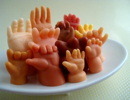 صابون أشكال وألوان روعة