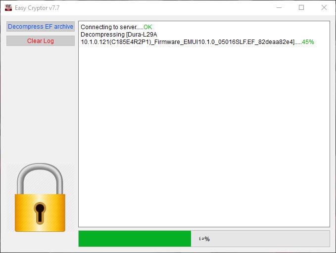 الاصدار الجديد من برنامج فك ضغط ملفات Easy-Firmware  V7.7