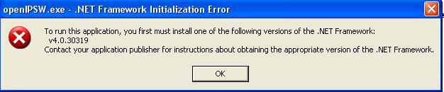 برنامج open ipsw الخاص بالوندوز
