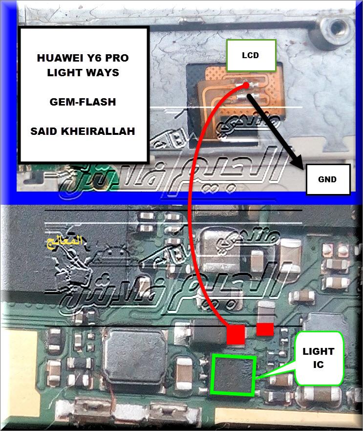 مسارات اعطال هاردوير وتشريح للهاتف الانيق هواوي HARDWARE SOLUTIONS