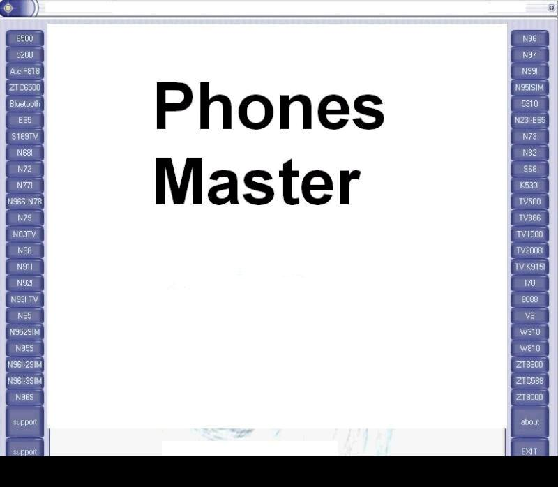 pin-out for china phone by phone master
