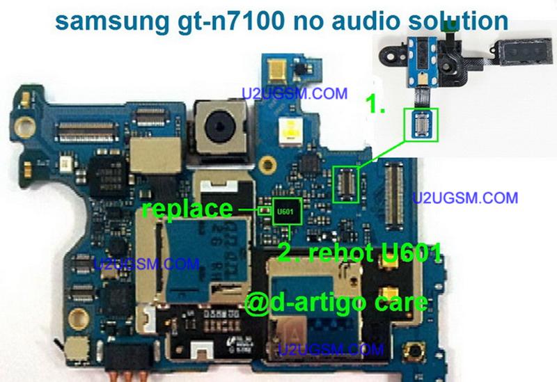 مساعدة نوت 2 N 7100 لا يوجد صوت اثناء المكالمه الصفحة 1