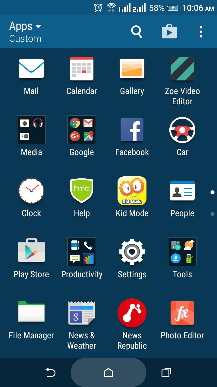 فلاشه باكب مارشملو HTC Desire 816 A5_DWG