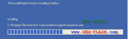كيفية تنصيب وتفعيل  axe box لاول مرة على المنتديات حصري