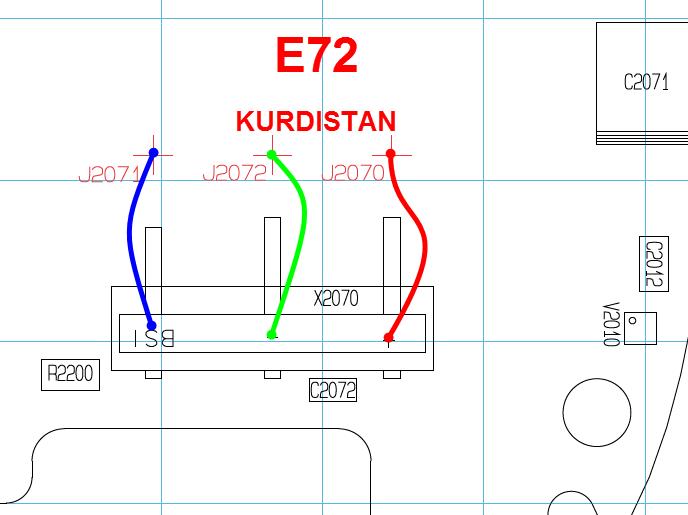 مشكلة في جهاز e72