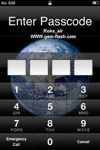فك رمز الحماية iphone 3gs 16gp