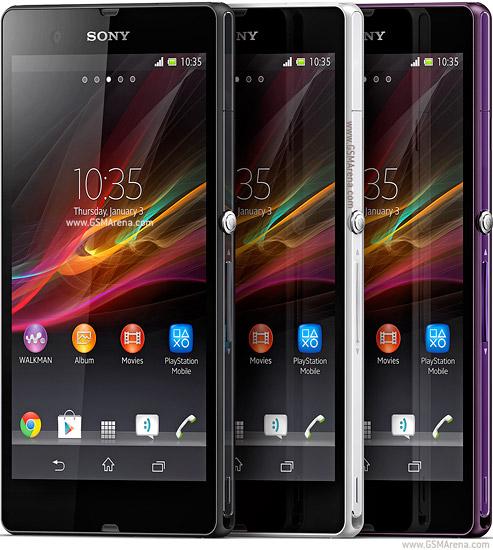 سعر ومواصفات Sony Xperia Z