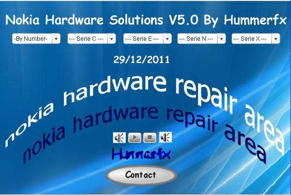 Nokia hardware solution V5.0 New 2012 النسخة الخامسة لبرنامج