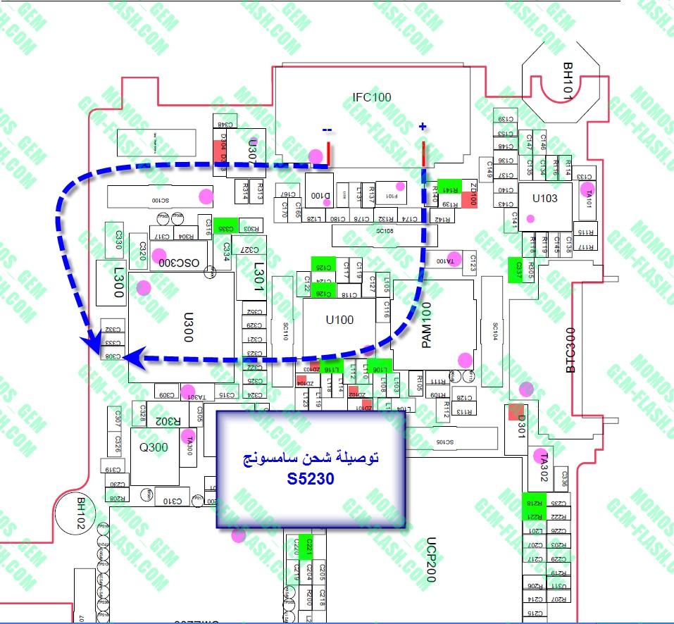 5233a قاعدة الشحن سامسونج