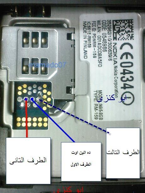 برجاء rx*tx جهاز n95 8g