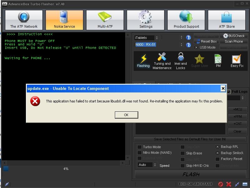 حل مشكلةupdate exe n900  اثناء التفليش على التربو