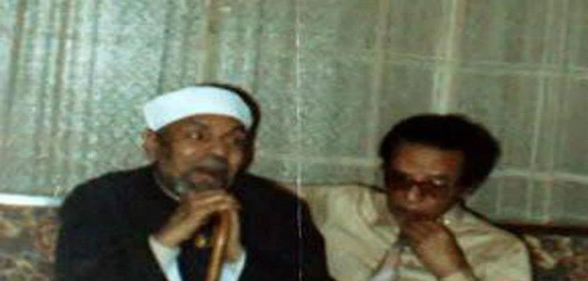 صورة للشيخ الشعراوى والدكتور مصطفى محمود رحمهم الله