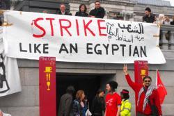 تويتات مصرية ساخرة على إضرابات انجلترا:ارحل يعنى جو بتفهم و لا نو مش هنليييييف هوا