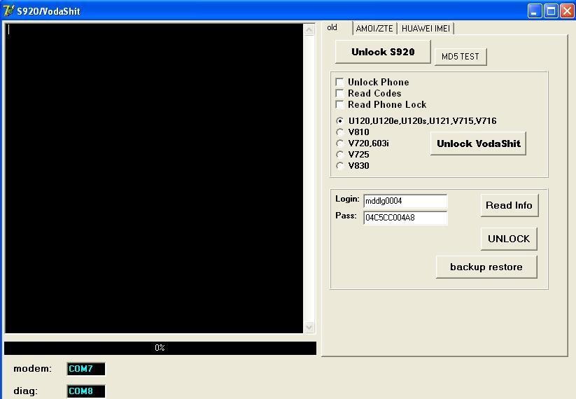 برنامج قديم لكن مفيد vodafon / amoi / huawei