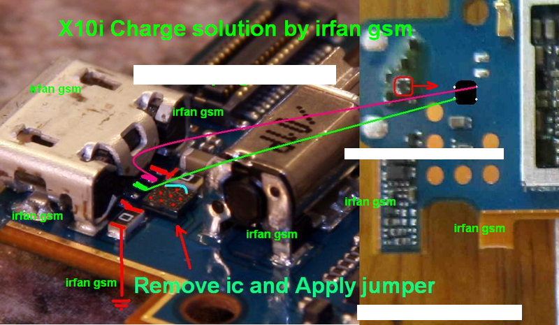 X10i new charge solution by irfan gsm 100% tested