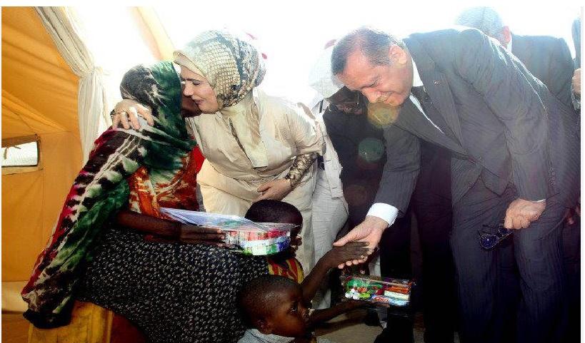 أردوغان يصل مقديشو ( البطل العثماني )