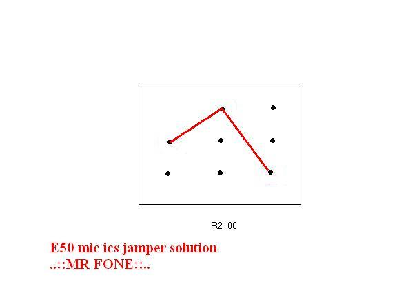 حل مشكل المايك في نوكيا e50 - e50i