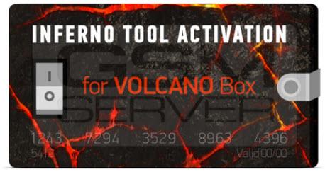 تم اضافة اكتفشن Inferno Tool Activation for Volcano Box على السيرفر